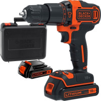 Black & Decker BDCHD18KB-QW Cordless Combi Drill
