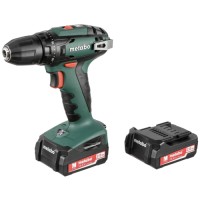 Metabo BS 14,4V Cordless Drill Driver incl. 2x battery, case