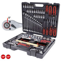 "KS Tools 1/4""+3/8""+1/2"" Universal Tool-Set 97-pieces"